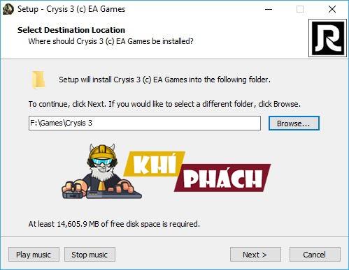 Hướng dẫn cài đặt game Crysis 3 Full cho PC