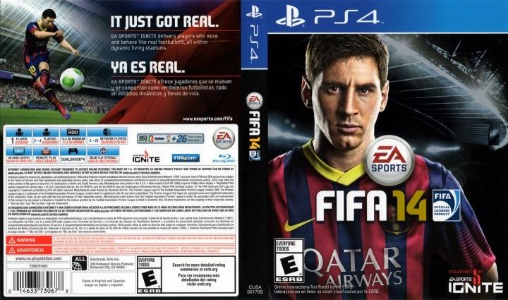 Cấu hình cần thiết để chơi game Fifa 14 trên PC