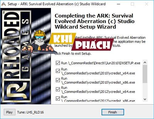Yêu cầu phần mềm đặt hàng để chơi Game Ark Survival Evolved