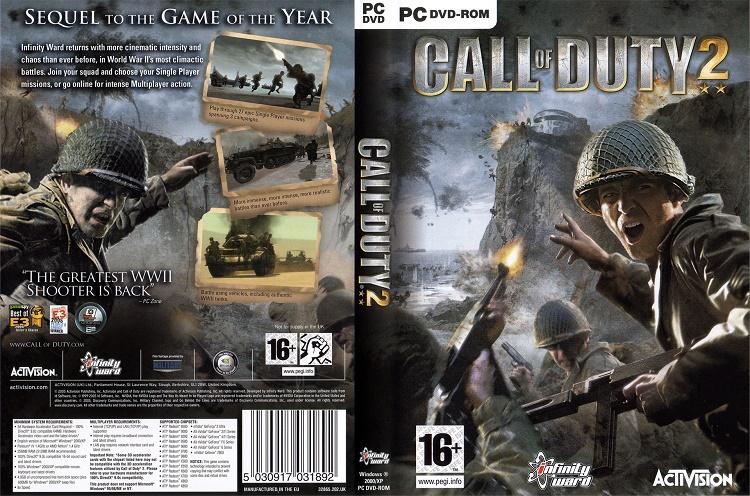 Cấu hình yêu cầu để chơi game Call Of Duty 2 rất nhẹ
