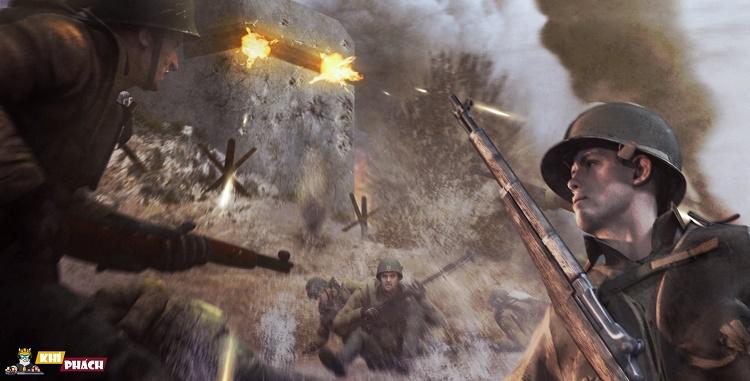 Thoải mái Tải Call Of Duty 2 về chiến mà không lo về cấu hình