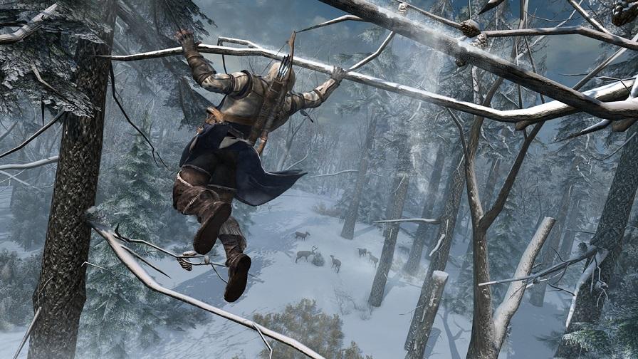 Pha packour đã được thấy trong Assassins Creed 3