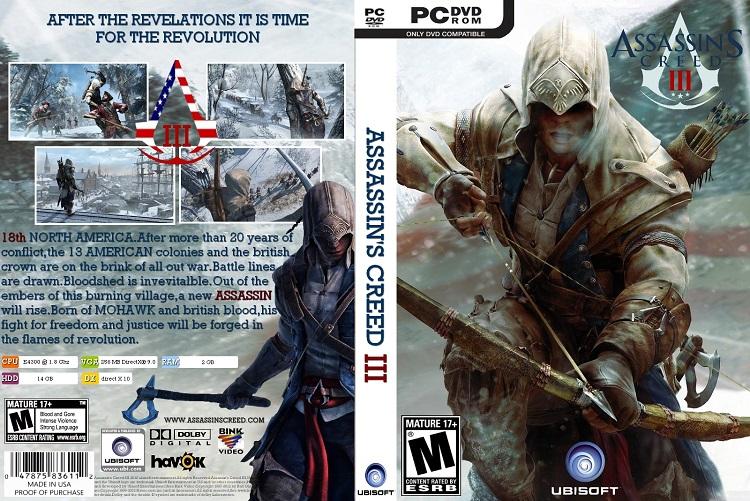 Cấu hình cần thiết để chơi game Assassin's Creed 3