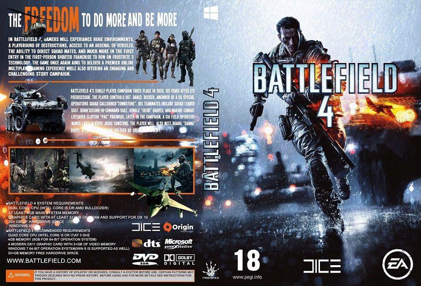 Cấu hình cần thiết để chơi Game Battlefield 4