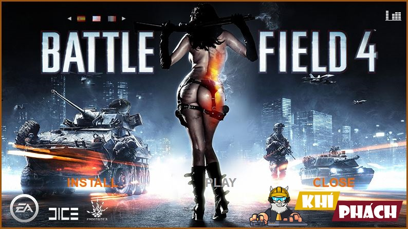Hướng dẫn cài Battlefield 4 Full cho PC