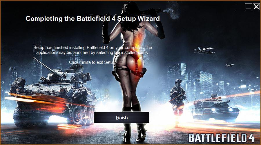 Hoàn thành cài đặt Battlefield 4
