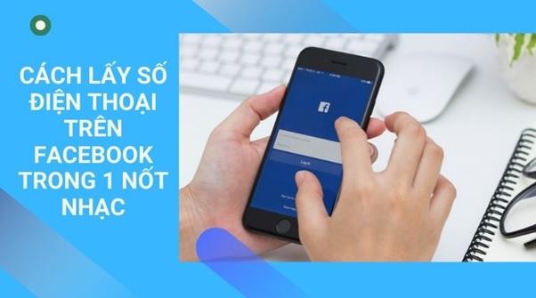 Cách lấy số điện thoại Facebook trong 1 nốt nhạc