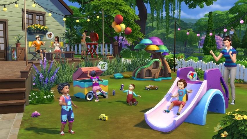 The Sims 4 có lối chơi rất giống đời thực