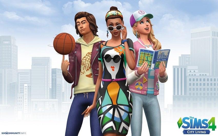 The Sims có đồ họa rất đẹp