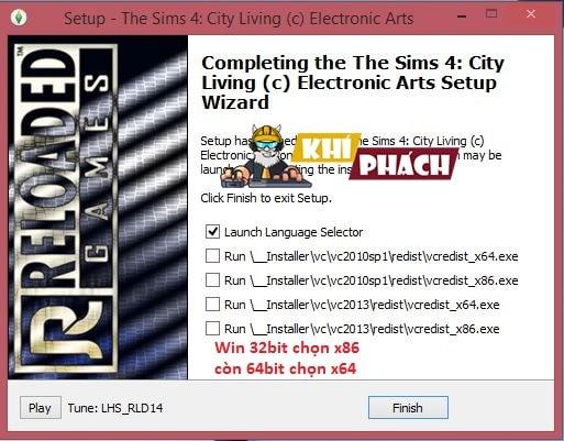 Hướng dẫn cài đặt The Sims 4 City Living