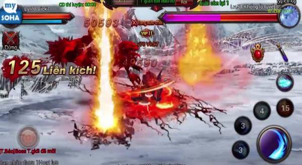 Phong Ma mobile A-RPG hiện có trên iOS và Android, tặng Giftcode 1