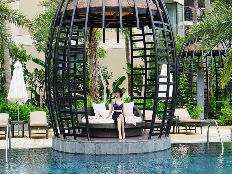 Lan man dài quá, giờ review khu nghỉ dưỡng cao cấp InterContinental Phu Quoc Long Beach Resort