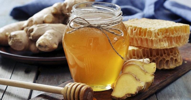 Giảm mỡ bụng bằng gừng tươi và mật ong
