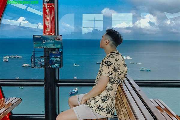 Tuyến cáp treo Hòn Thơm Phú Quốc với chiều dài cáp treo vượt biển kỷ lục thế giới 7,9km