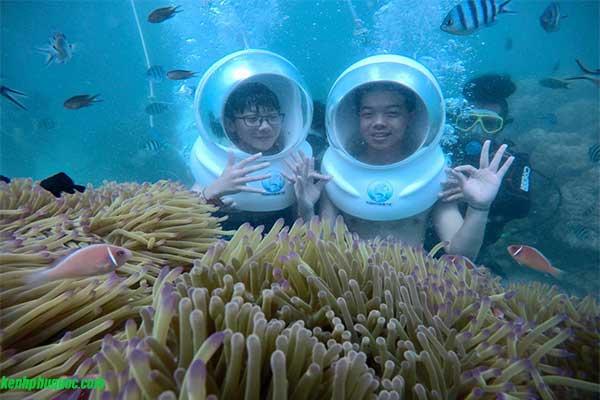 Tour-Đi bộ-Dưới biển-Khám phá-Đại dương-Phú Quốc-Người đi bộ đường dài