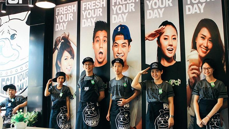 Thái độ phục vụ của nhân viên chính là dấu ấn của thương hiệu Bobapop