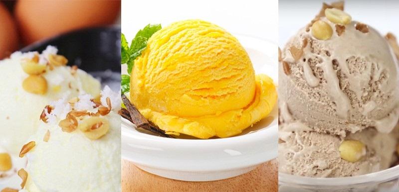 Các loại máy làm kem hiện nay