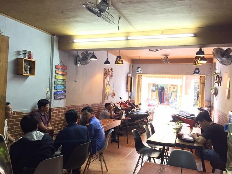 Không gian quán Totoco - Trà sữa & Cà phê