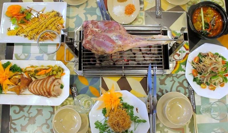 Thưởng thức các món cừu tại LokCok Sai Gon