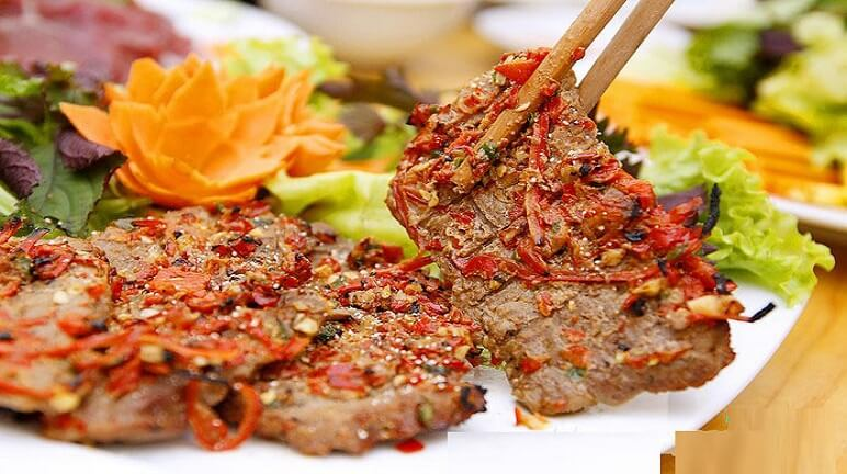 Bò nướng sa tế Halal Saigon