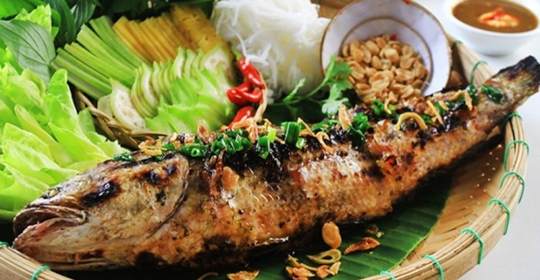 Cá lóc nướng trui tại nhà hàng Sài Gòn xưa và nay