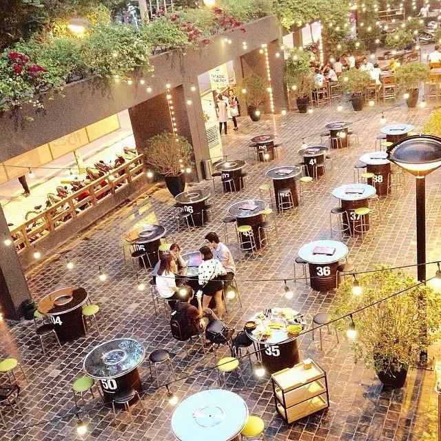 Không gian lấy cảm hứng từ ẩm thực đường phố Hàn Quốc