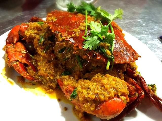 Món ghẹ Singapore nổi tiếng của nhà hàng Hoa Crab