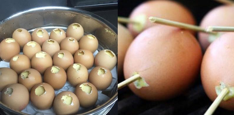 Cách hấp trứng gà