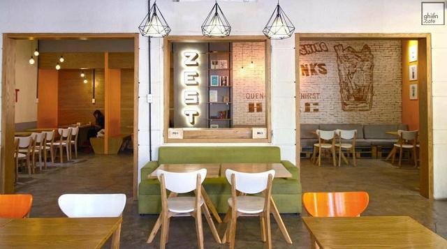 Cho ngày cuối tuần bình yên cùng Zest Cafe