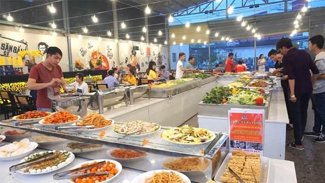 Nhà hàng Buffet Chú Tèo tại 16A Phạm Văn Đồng, Phường Hiệp Bình Chánh, Thủ Đức