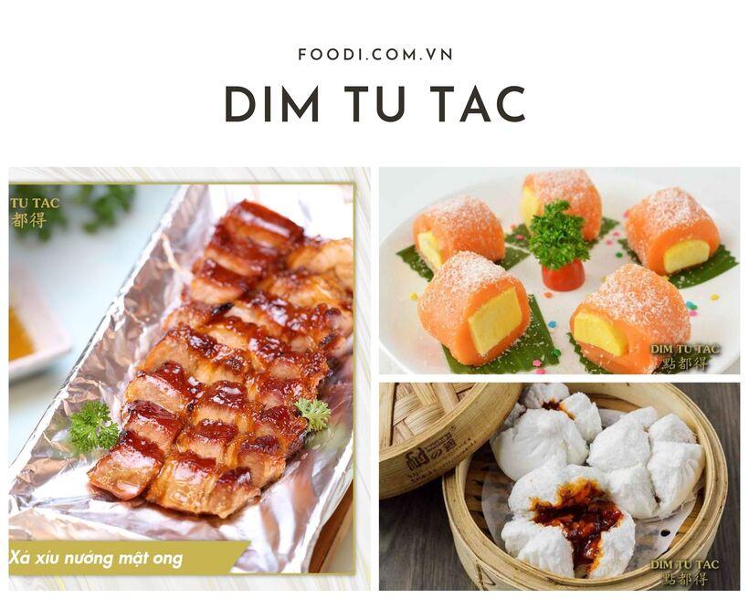 Nhà hàng Dim Tu Tac - Nơi để thưởng thức