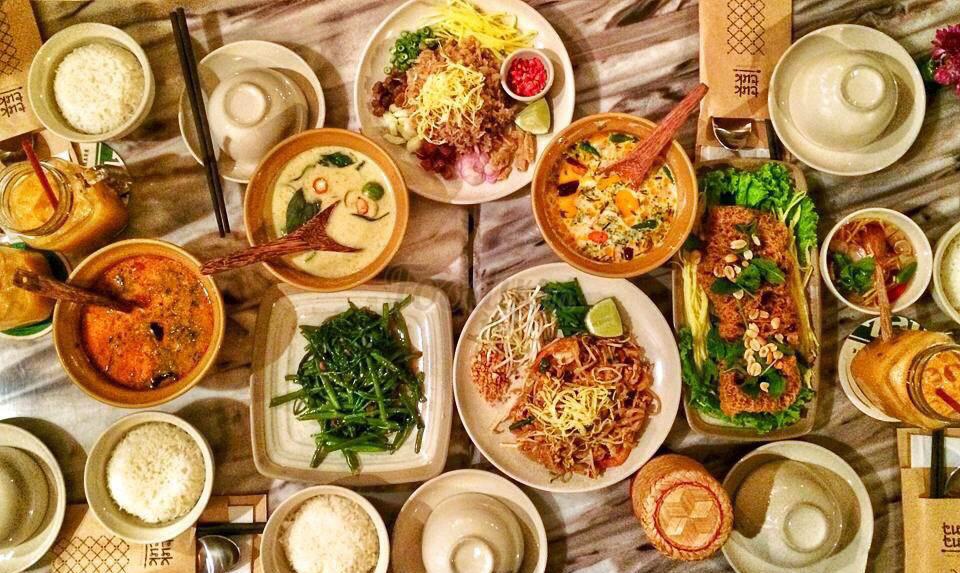Lac Thai 6 là một quán rượu mang hương vị của Thái Lan