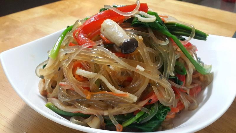 Món miến trộn Hàn Quốc thơm ngon cho cả nhà