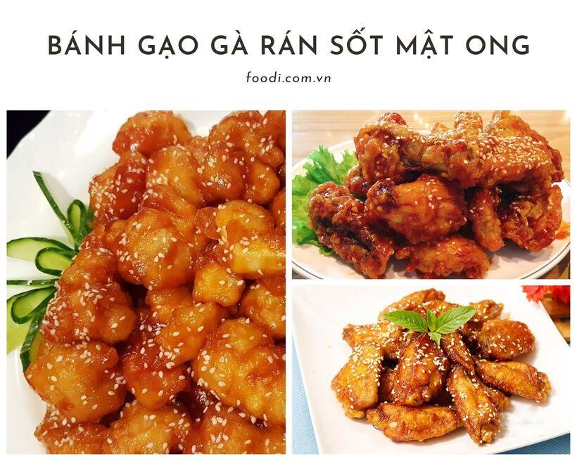 Món ăn Hàn Quốc Busan - Đồ ăn Hàn Quốc với giá Việt Nam ngay tại Sài Gòn
