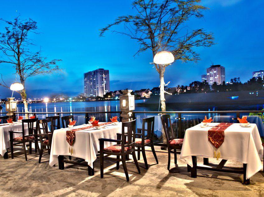 Tận hưởng không gian lãng mạn tại An Restaurant