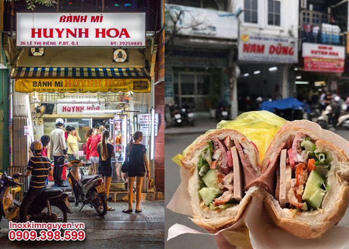 Bánh mì Huỳnh Hoa có giá hơn 50.000 đồng / 1 ổ, rất đáng thử phải không?