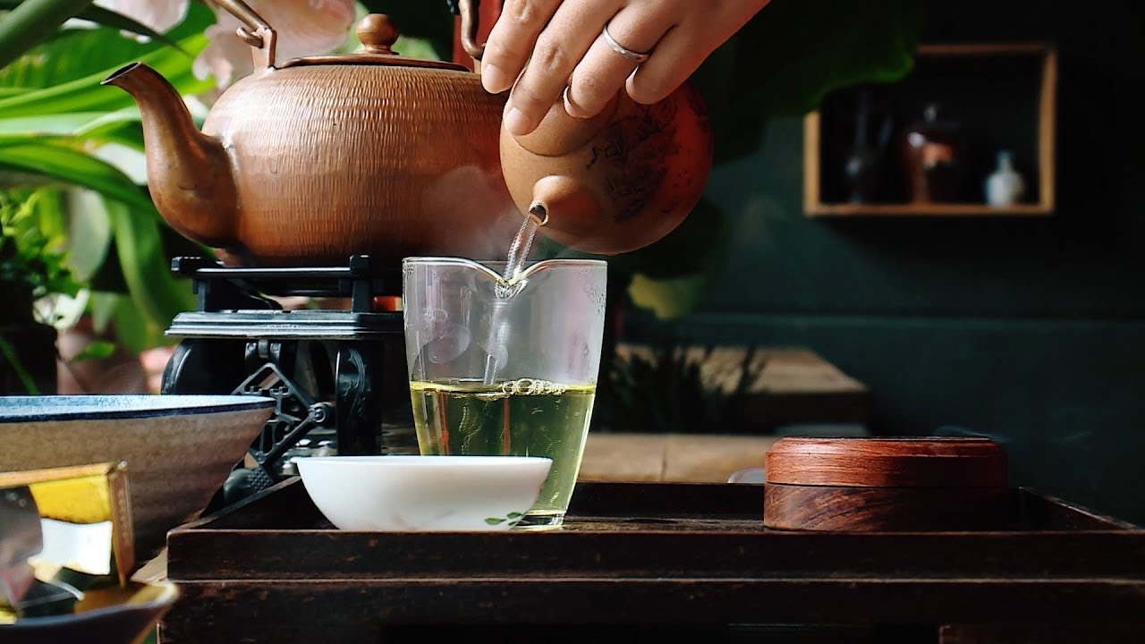 Note when making tea and how to choose water