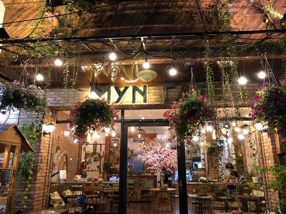 Quán cafe đẹp ở Tân Phú - Myn Cafe