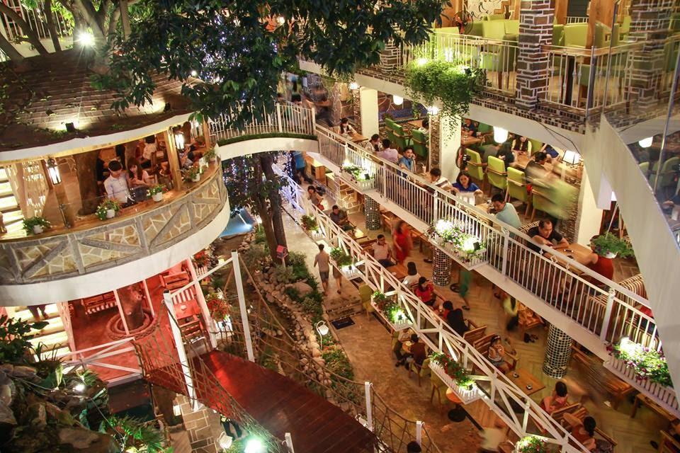 City Coffee một thành phố thu nhỏ