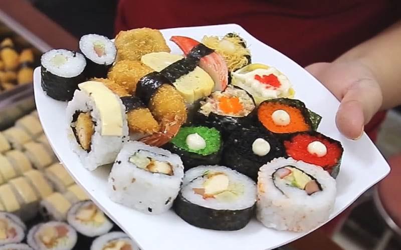 Gimbap - món ăn làm bao thực khách say mê