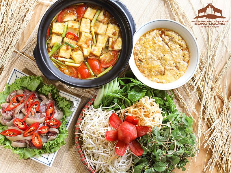 Các món ăn chế biến từ thịt dê