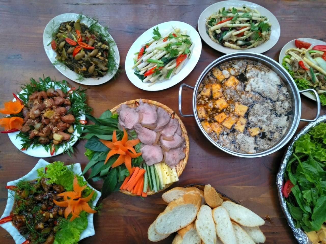 Thưởng thức những món ăn mang đậm hương vị Tây Bắc