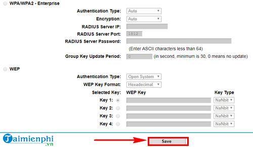 Cách kết nối mật khẩu wifi trên w8968 5