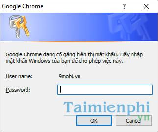 Quản lý mật khẩu được lưu trữ trên chrome