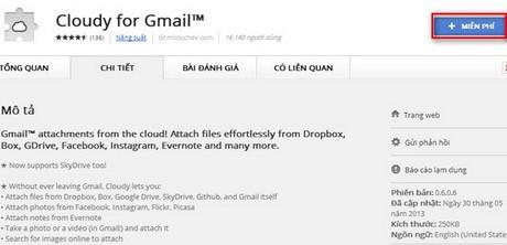 Định hướng tệp từ Dropbox sang Gmail