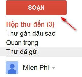 kiểm tra tôi vào gmail