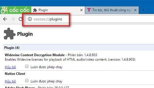 loi flash plugin không tải được trên adobe flash player 2