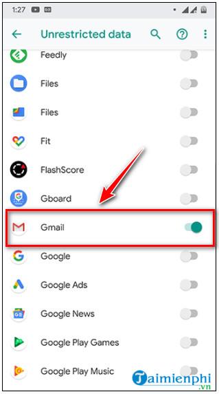 một cách khắc phục lỗi không thể nhận gmail trên điện thoại