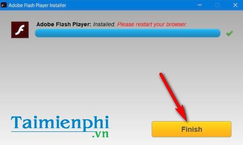 cách cài đặt adobe flash player trên máy tính windows