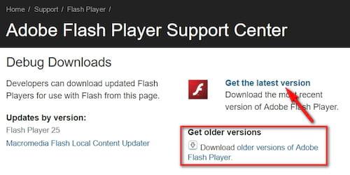 cài đặt adobe flash player trên windows pc